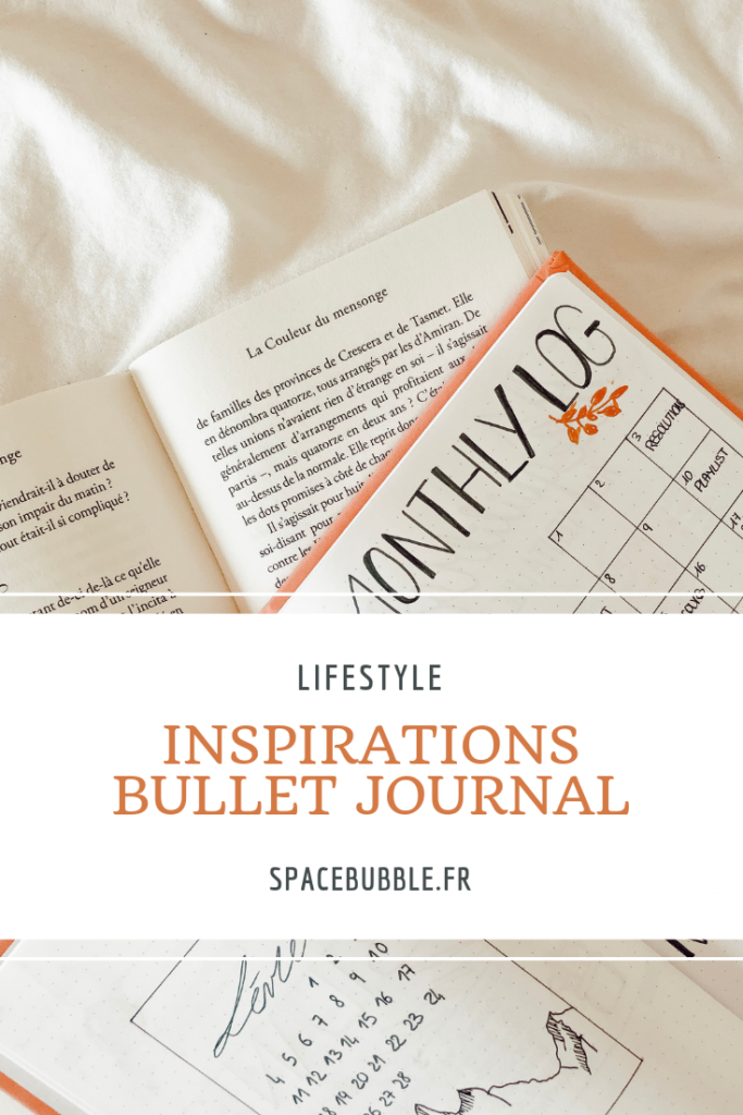 Mes inspirations bullet journal