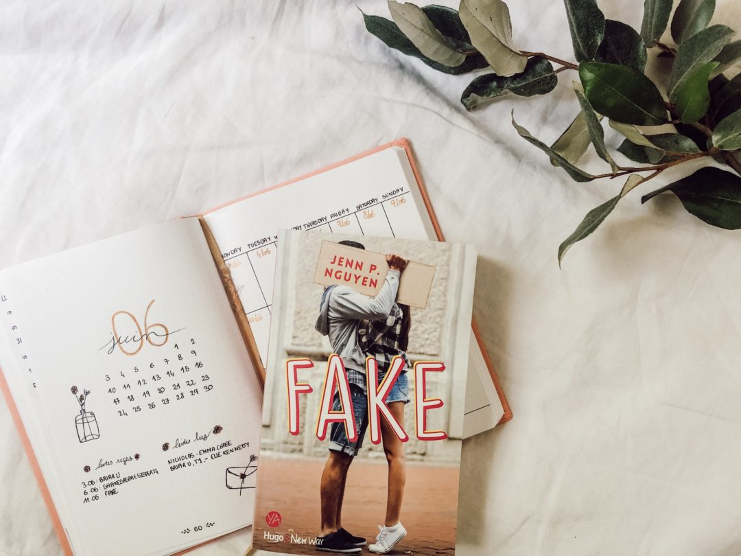Fake, une romance adolescente tout douce chez Hugo New Way de Jenn P Nguyen