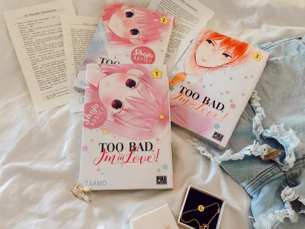 Too Bad I'm in love est un shojo adorable et feel-good !